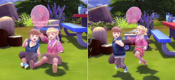 Balloon Pose (Toddler) at A luckyday image 8615 Sims 4 Updates