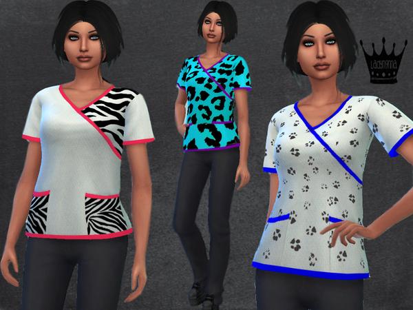 Sims 4 Print Scrub Set by swaghard at TSR
