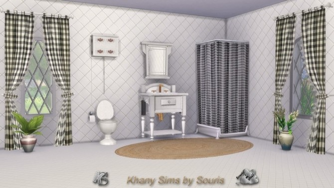 Season bathroom by Souris at Khany Sims image 8711 670x377 Sims 4 Updates