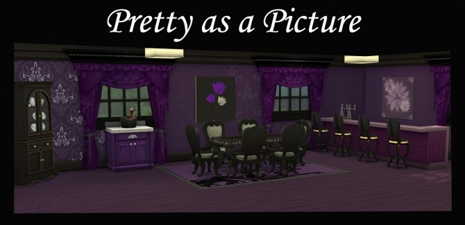 Sims 4 Pretty as a Picture by Simmiller at Mod The Sims