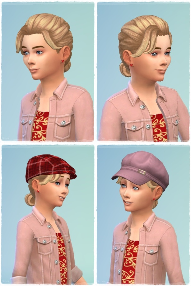 Little French Braid Hair at Birksches Sims Blog image 9018 Sims 4 Updates