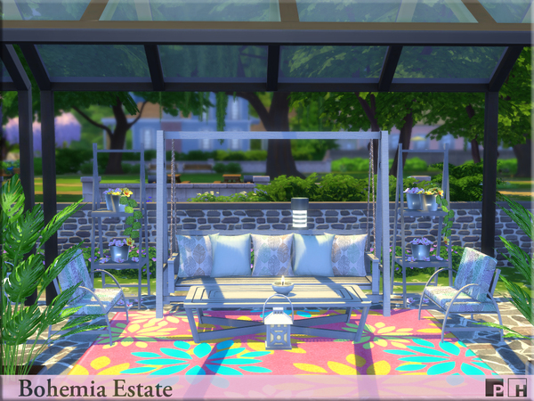 Bohemia Estate by Pinkfizzzzz at TSR image 910 Sims 4 Updates