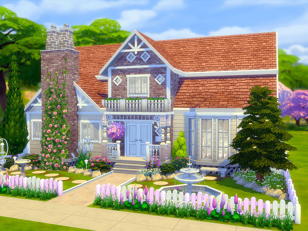 Sims 4 Roselea family home by sharon337 at TSR