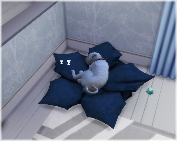 Maple Leaf Pet Bed At Helen Sims 187 Sims 4 Updates