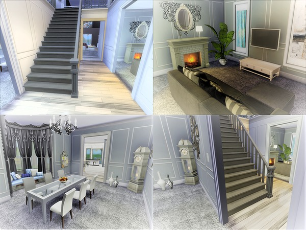 Euro Glam house by circasuzanne at TSR image 940 Sims 4 Updates
