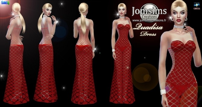 Quadisa dress at Jomsims Creations image 9513 670x355 Sims 4 Updates
