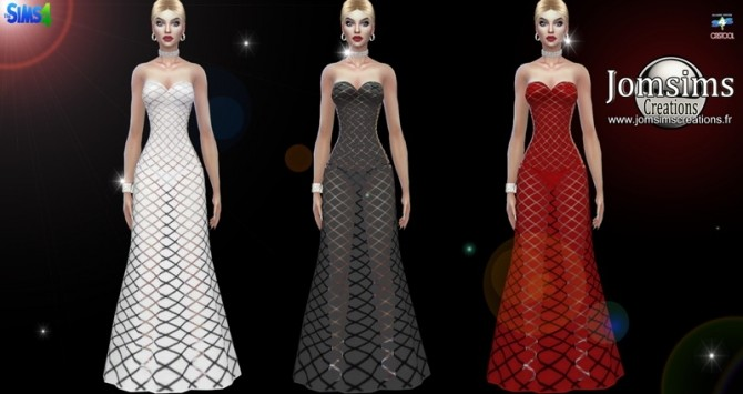 Quadisa dress at Jomsims Creations image 9613 670x355 Sims 4 Updates