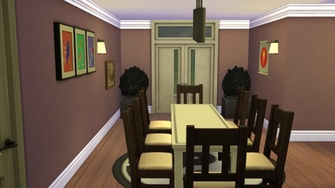 Sims 4 Mansão Moderna NO CC by iSandor at Mod The Sims