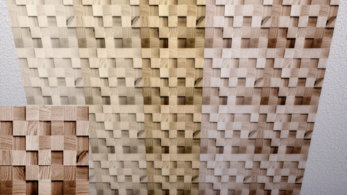 Blocks of Wood wall by LaLunaRossa at About Sims image 9714 Sims 4 Updates