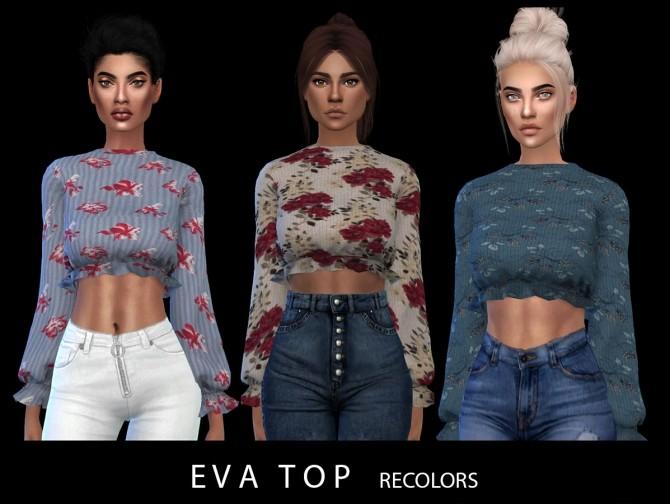 Eva Top at Leo Sims image 9715 670x504 Sims 4 Updates
