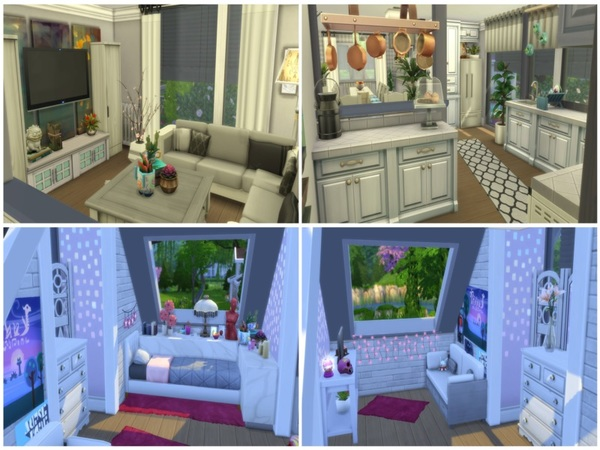 Sims 4 German Family House by melly20x at TSR
