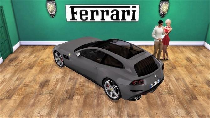 Sims 4 Ferrari GTC4lusso at LorySims