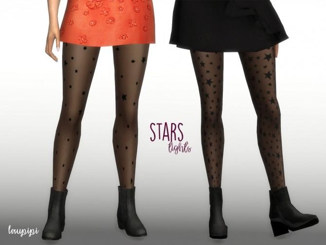 Sims 4 Stars Tights at Laupipi