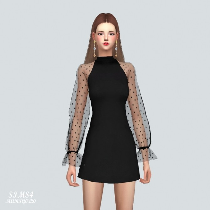 See Through Lovely Dress at Marigold image 10119 670x670 Sims 4 Updates
