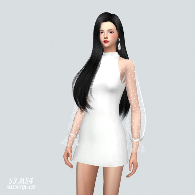 See Through Lovely Dress at Marigold image 10216 670x670 Sims 4 Updates