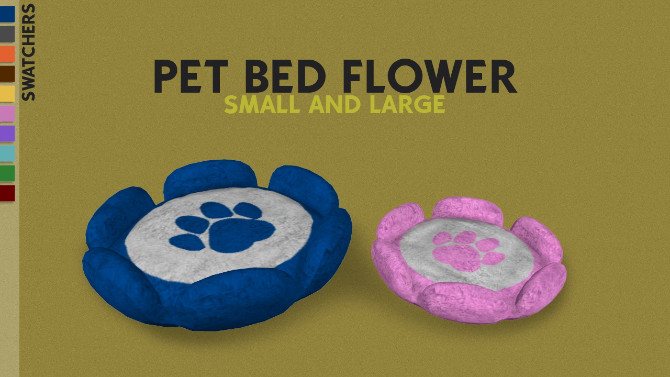 MORE TWO PETS BED by Thiago Mitchell at REDHEADSIMS image 104 670x377 Sims 4 Updates