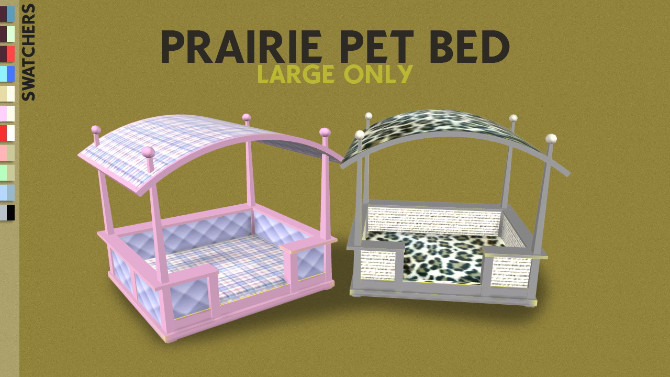 MORE TWO PETS BED by Thiago Mitchell at REDHEADSIMS image 105 670x377 Sims 4 Updates