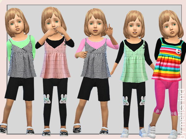2 in 1 Top Dress by melisa inci at TSR image 1050 Sims 4 Updates