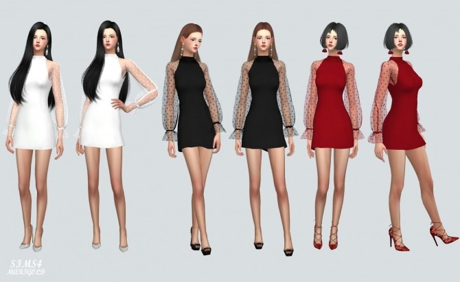 See Through Lovely Dress at Marigold image 10514 670x410 Sims 4 Updates