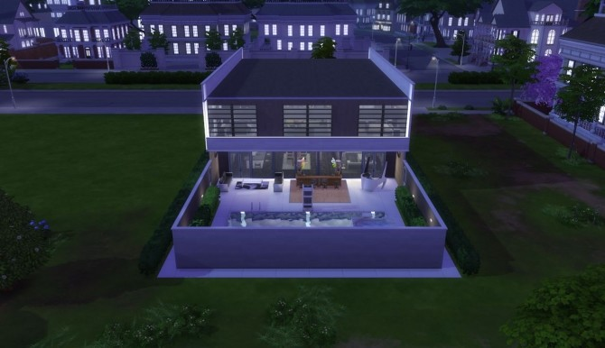 Las Arenas Modern House by LetrixAR at Mod The Sims image 1056 670x386 Sims 4 Updates