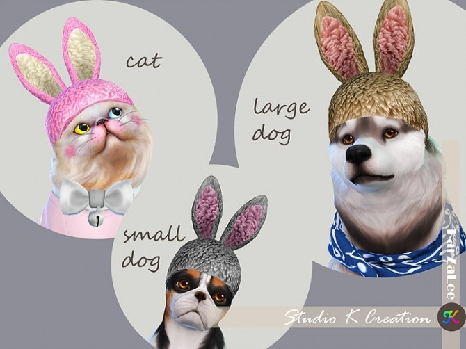 Sims 4 Bunny hat at Studio K Creation
