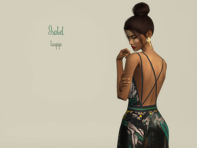 Isabel long dress at Laupipi image 1073 Sims 4 Updates