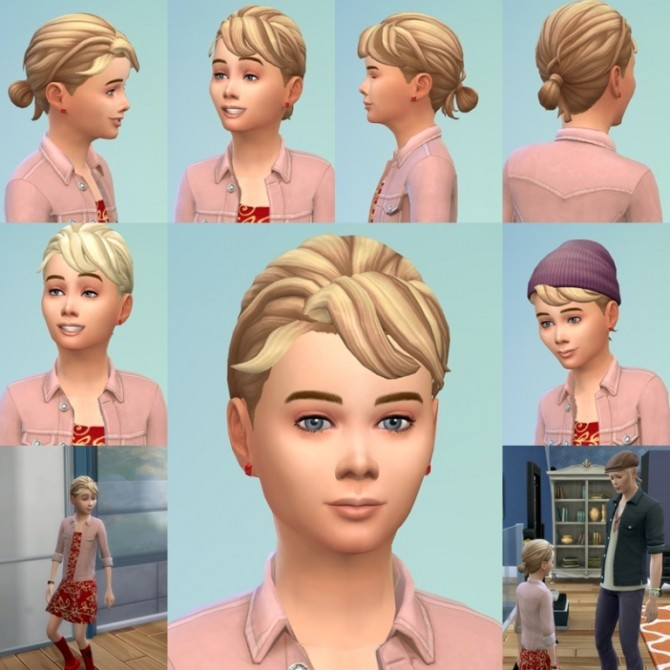 Sims 4 Loop Knot for Kids at Birksches Sims Blog