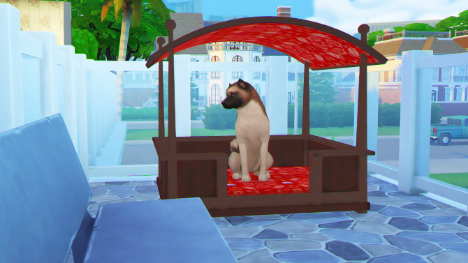 MORE TWO PETS BED by Thiago Mitchell at REDHEADSIMS image 108 670x377 Sims 4 Updates