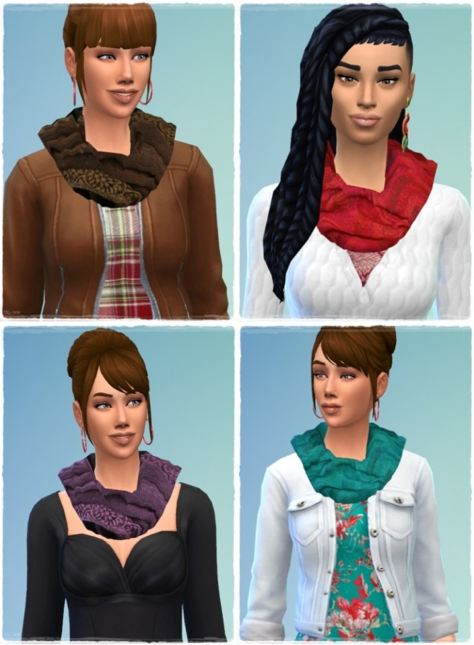 Wool Scarf female at Birksches Sims Blog image 1083 670x912 Sims 4 Updates