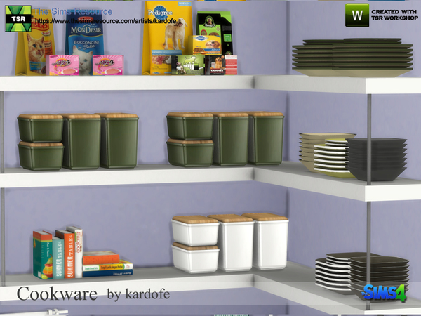 Sims 4 Cookware by kardofe at TSR
