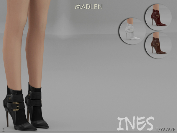 Sims 4 Madlen Ines Boots by MJ95 at TSR