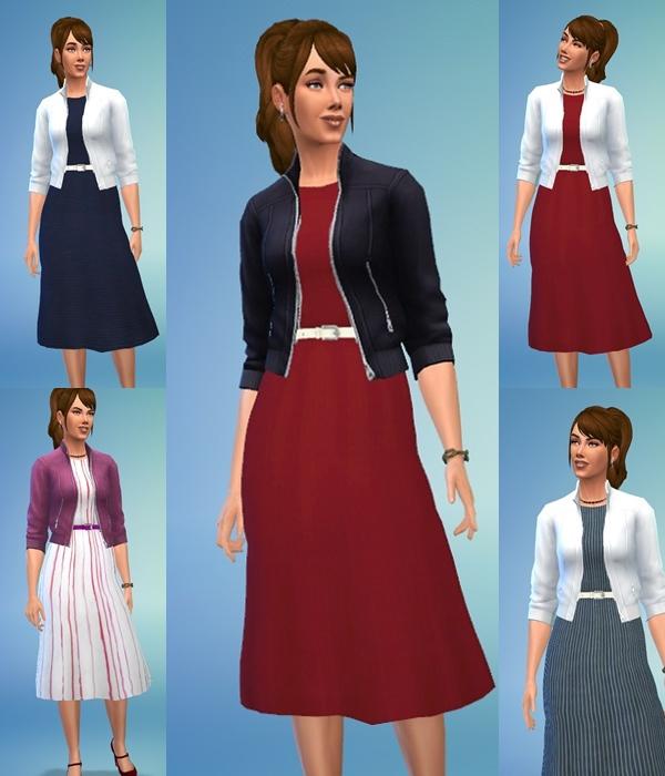 Ladys Autumn Dress at Birksches Sims Blog image 1096 Sims 4 Updates