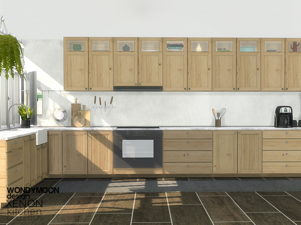 The Sims  Kitchen Designs