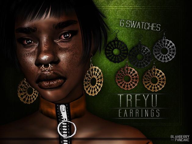 Treyu Earrings at Blahberry Pancake image 11018 Sims 4 Updates