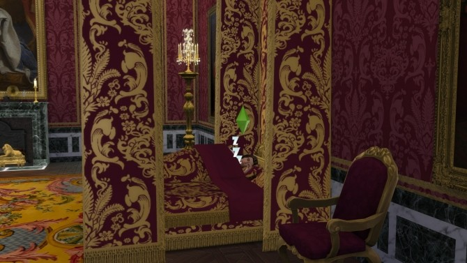 Lit du Roi Double Bed by TheJim07 at Mod The Sims image 1111 670x377 Sims 4 Updates