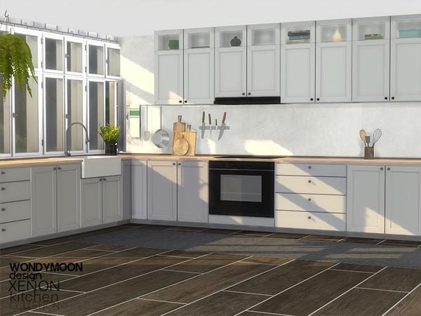 Xenon Kitchen by wondymoon at TSR image 11117 Sims 4 Updates