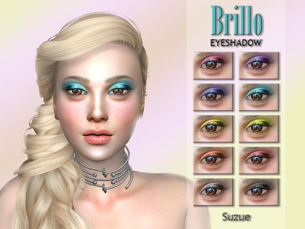 Brillo Eyeshadow N1 by Suzue at TSR image 1119 Sims 4 Updates