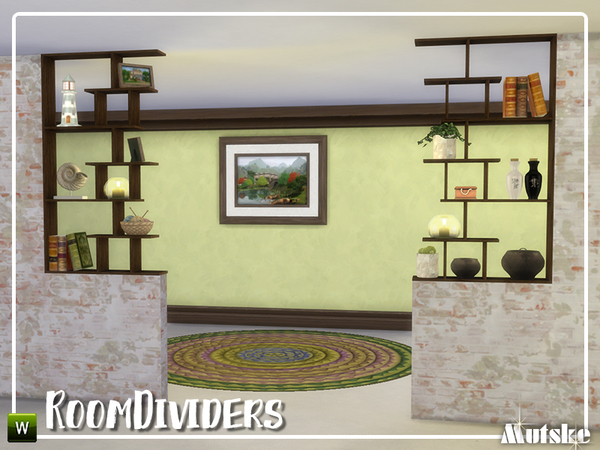 Room dividers by mutske at TSR image 1131 Sims 4 Updates