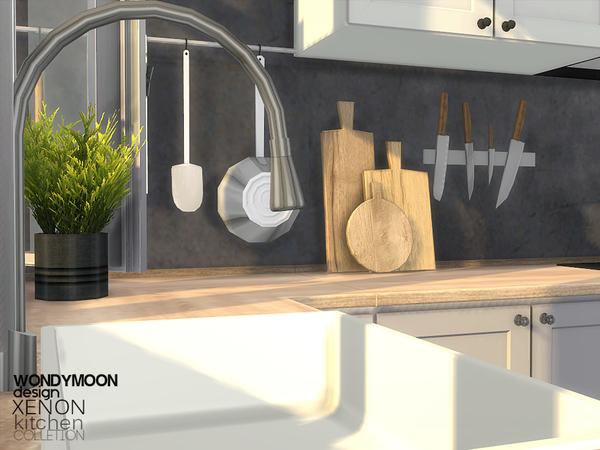 Xenon Kitchen by wondymoon at TSR image 11314 Sims 4 Updates