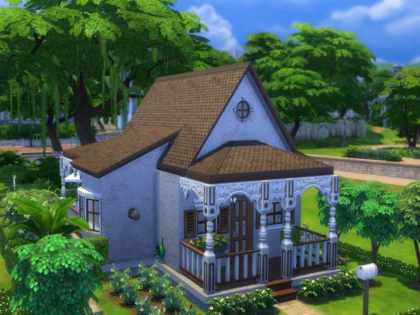 Sims 4 Madisons Cottage by staralien at TSR