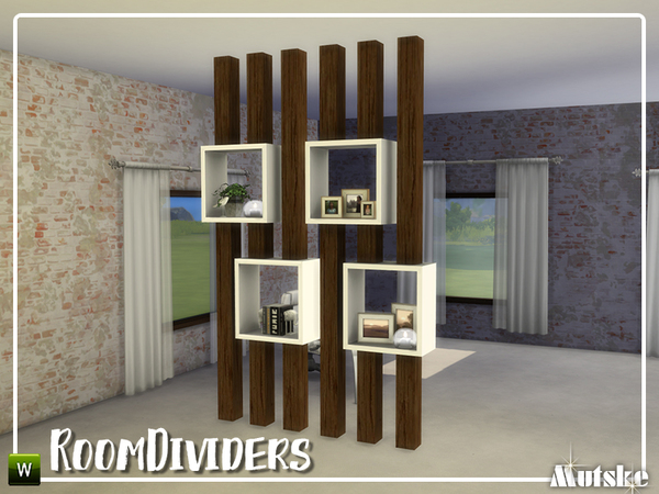 Room dividers by mutske at TSR image 1141 Sims 4 Updates