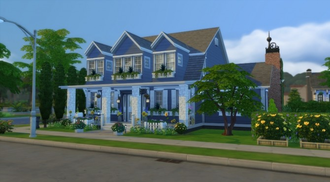 Sims 4 Cape Cod Retreat NO CC by Simooligan at Mod The Sims