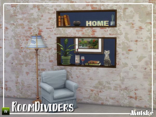 Room dividers by mutske at TSR image 1151 Sims 4 Updates