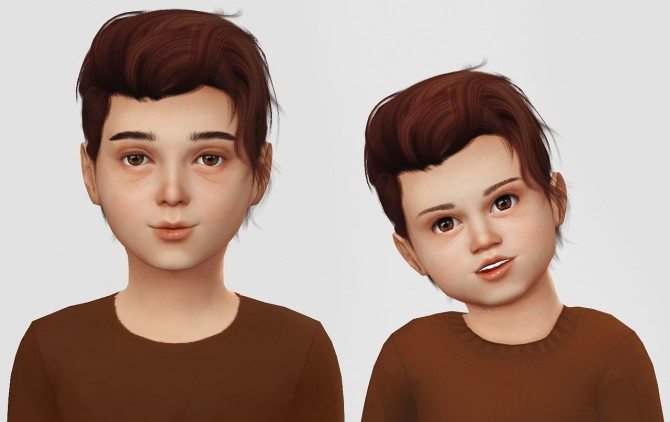 Sims 4 Wings Os1208 hair for Kids&Toddlers at Simiracle