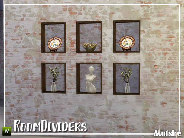 Room dividers by mutske at TSR image 1171 Sims 4 Updates