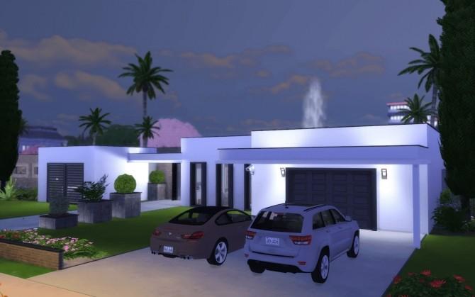 Sims 4 Villa Asphalte at Rabiere Immo Sims