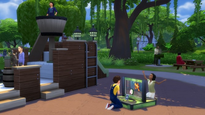 Sims 4 More Portable Objects by K9DB at Mod The Sims