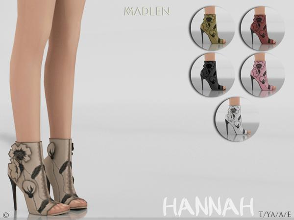 Sims 4 Madlen Hannah Shoes by MJ95 at TSR