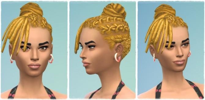 Sims 4 Anschi's Dreads at Birksches Sims Blog
