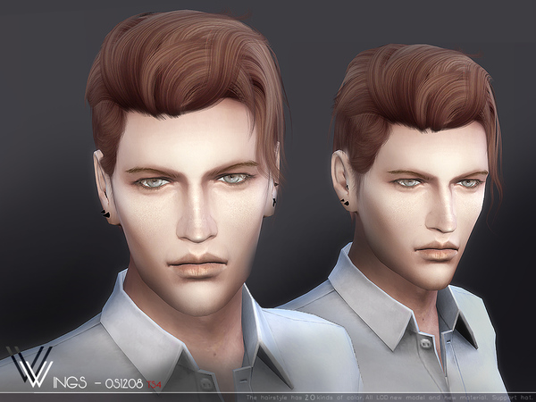 Male Hair Os1208 By Wingssims At Tsr 187 Sims 4 Updates